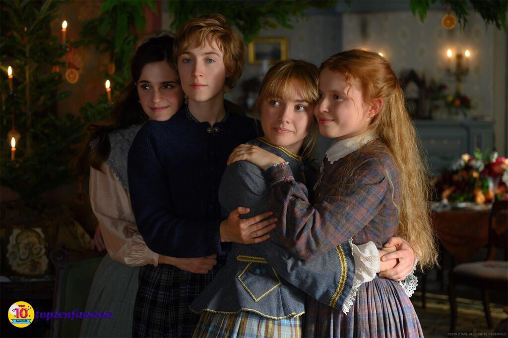 """Emma Watson and Young Cast in Touching Movie """"Little Women"""""""