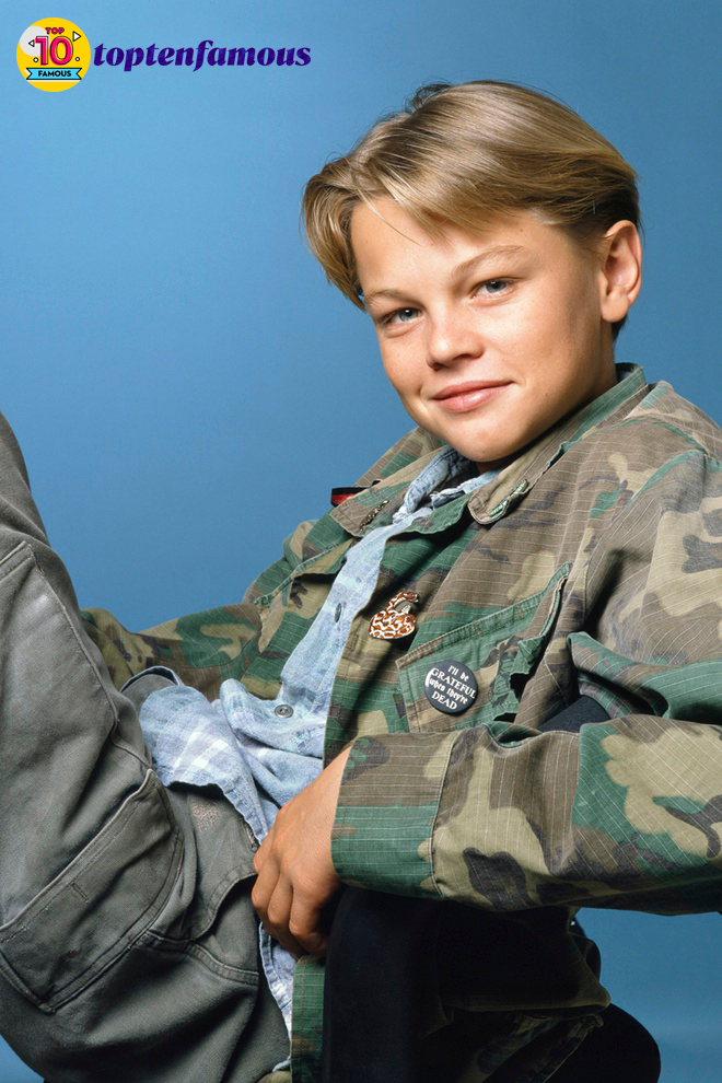 Leonardo DiCaprio Then and Now: A Series of His Young Photos