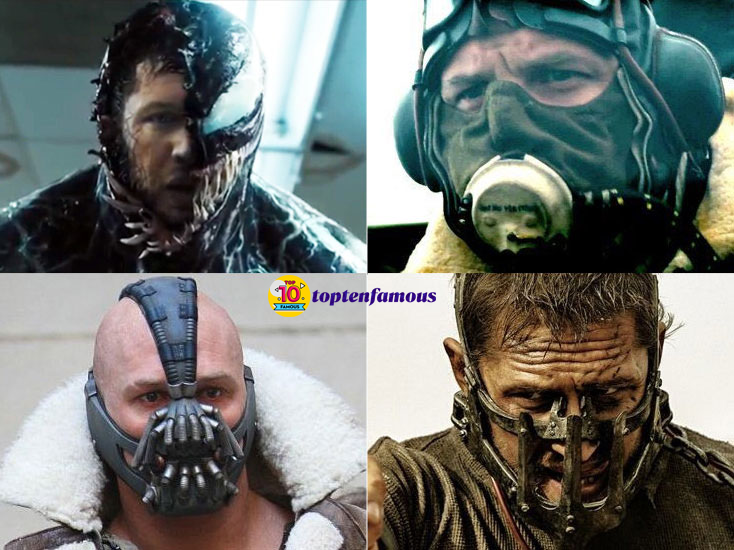 Tom Hardy Then and Now: The Actor Associated with Lucky Masks