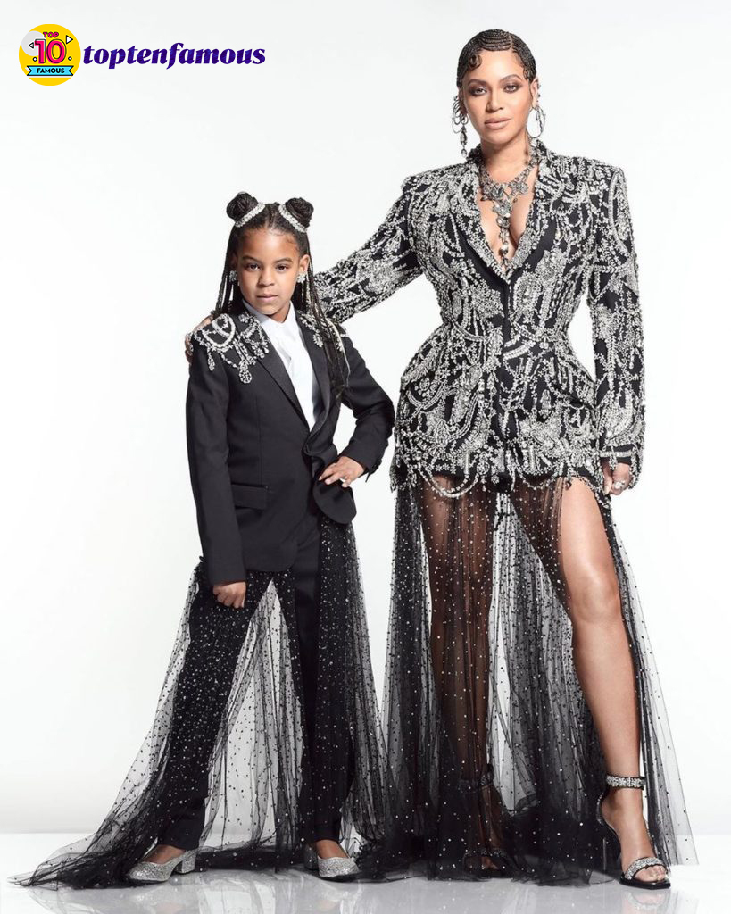 Beyonce's daughter outfit
