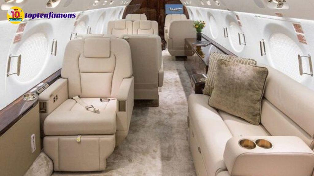 Mariah Carey net worth - private jet