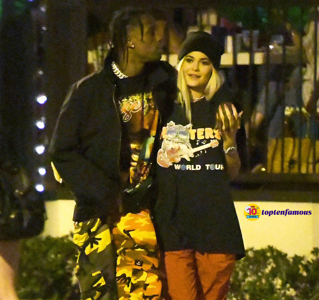Love Story of Kylie Jenner and Travis Scott