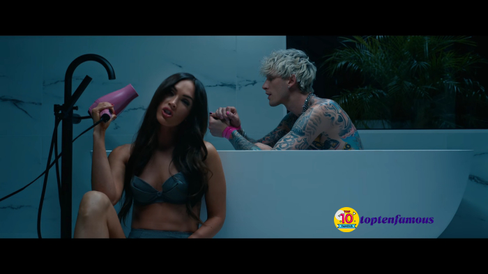Megan Fox and Her Younger Boyfriend Appeared Passionately in His New MV