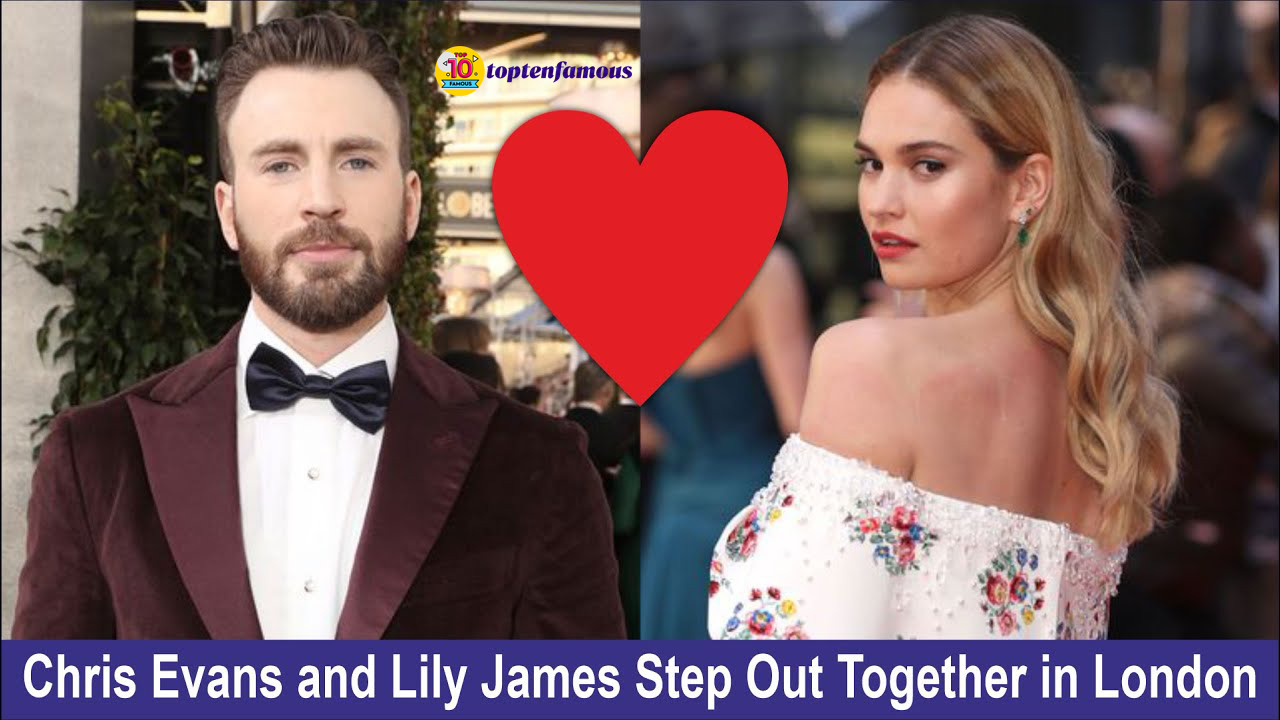 Chris Evans and Lily James is Dating?