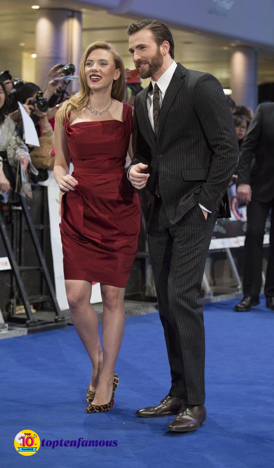 Friendship Between Chris Evans and Scarlett Johansson