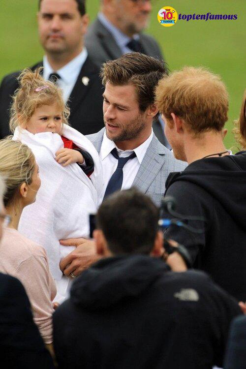 Kids of Chris Hemsworth