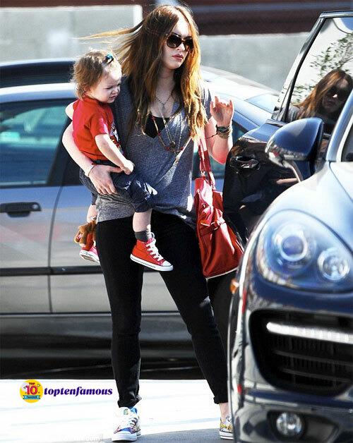Megan Fox and Her Husband